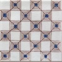 Керамическая плитка  белая 10x10  Diffusion Ceramique DOA1010C06