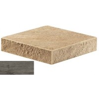 AT7P Axi Grey Timber Elemento L SP Angolare Dx 33x33 LASTRA 20mm