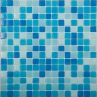 MIX2 бело-сине-голубой (бумага) 32.7x32.7