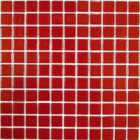 TES80197 Red glass (стекло) 30x30