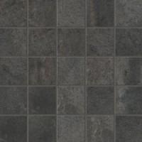 01281 Bits & Pieces PITCH BLACK MOSAICO Nat Ret 30x30