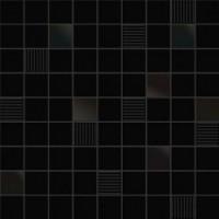 Mosaico Cubic Black 31.6x31.6