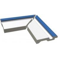 Керамическая плитка  противоскользящая (антислип) для бассейна RAKO XPA56005