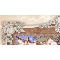 Charme Bellagio-1 Decor Honey 25x50