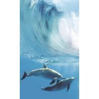 Керамическая плитка для ванной морская волна TES100153 Cerrol