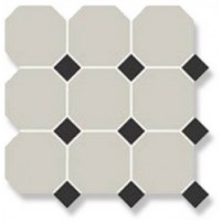 OCT1614  Керамический гранит Top Cer Octagon 4416 oct14 (лист 9 штук+вставки) 30x30
