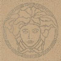 37201 COMPOSIZIONE MEDUSA ORO/NOCE/SILVER 118x8,4