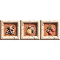 938606 Декор MARMI ANTICHI FORMELLA SET BACCO Pastorelli Ceramiche 10x10
