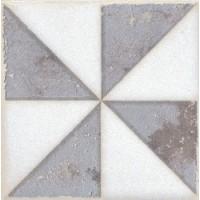 STG/A407/1266 Амальфи орнамент коричневый 9.9*9.9
