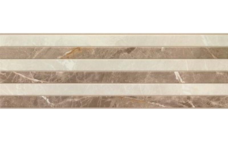 Керамическая плитка 9520 RECT. BEIGE RELIEVE  30x90 Porcelanite Dos 912094