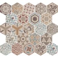 21356  Hexatile Harmony Colour 17,5*20 17.5x20