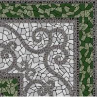 774730  Византия зеленый 30x30
