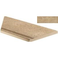 ANPF Axi Golden Oak Gradino Round Angolo Sx 30x60 LASTRA 20mm