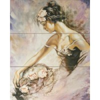 Керамическая плитка  фиолетовая Gracia Ceramica 010301001725