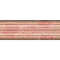 Aure Decor Lines Savage Flowers Marron 15x45