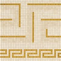 372x2 Vanitas GRECA BEIGE/GOLD 39,4x39,4