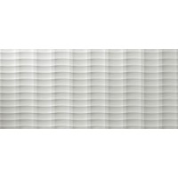 4D3P 3D Wall Plot White Matt 50x110