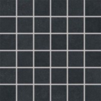 Мозаика матовая черная DDM06685 RAKO