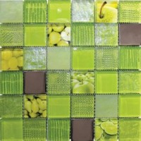 TES77044 FRUITS GREEN(5x5) 0.08 30x30