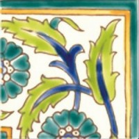 DOO1010A27 Angle Palmyre Vert 10x10