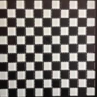 Мозаика  черно-белая Опера декора MBL047