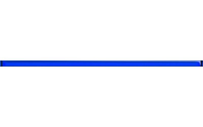 Керамическая плитка UG1L041  Спецэлемент стеклянный Universal Glass голубой  2x60 Mei (Германия)