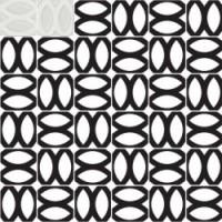 7VF08ME  Deco Dantan Comp.Mosaico 36pz Blanc 30x30