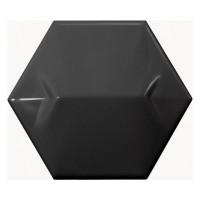 23078  Керамическая плитка для стен EQUIPE MAGICAL 3 Black Star 10.7x12.4