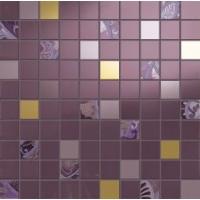 I313K7A Giselle Mosaico Mini Prugna 31.5x31.5