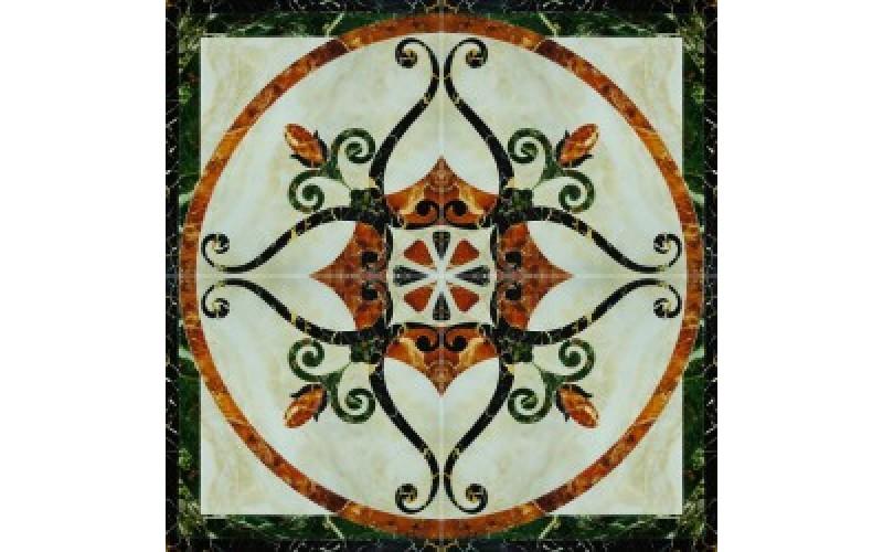 Керамогранит Castello Fronzola Roseton Crema  (60x60x4) 120x120 Infinity Ceramic Tiles 123943