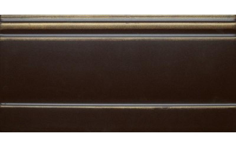 Керамическая плитка K1773ET350010 Цоколь La Diva черный тюльпан 15x30 Villeroy&Boch (Германия)