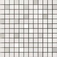 TES77537 Mosaico BIanco lucido 31.5x31.5