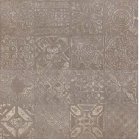 Dec.Patchwork Brown Lap 60x60