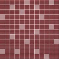 1049183  Mosaico Modena Bordeaux/Lustro 30.5x30.5
