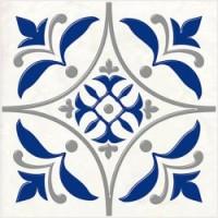 Керамическая плитка  для ванной синяя 04-01-1-14-03-65-1000-3
