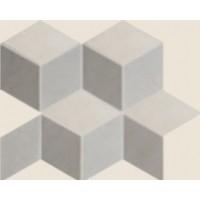 215479  District Cubic Mix2 Denim+Sabbia+Taupe 26x30