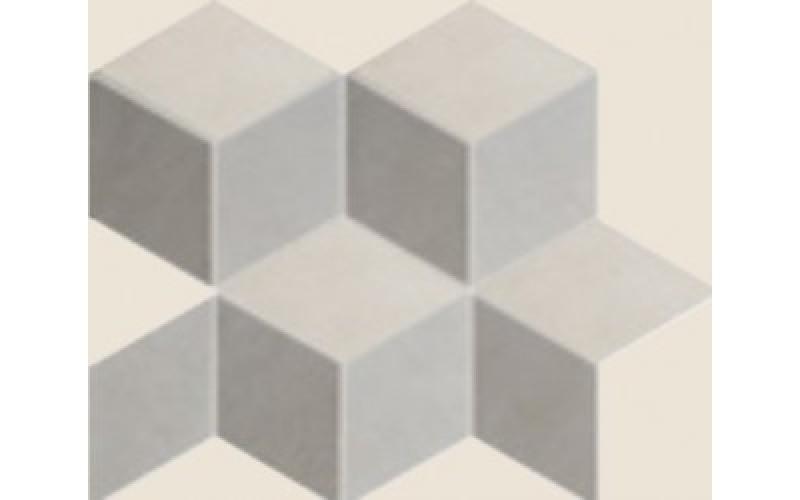 Керамическая плитка  District Cubic Mix2 Denim+Sabbia+Taupe  26x30 Colorker 215479