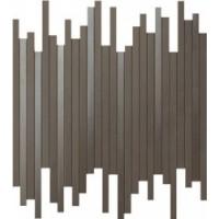 9DLB Dwell Brown Leather Mosaico L 30,5X26