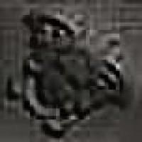 118133  Palace Gold GIROSPECCHIO MEDUSA BLACK 7x7