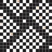 Мозаика  черно-белая Vallelunga 6000897