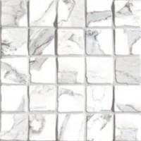 G20400 Calacatta Mosaico Lappato 30x30 (Tozz.6x6)