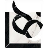 Керамогранит  черно-белый Refin MI11