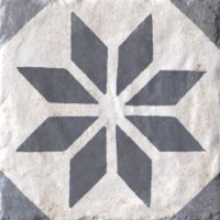 934791 Керамогранит HAVANA FLORIDITA BLU Cir Ceramiche 20x20