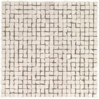 9STL Marvel Clauzetto White Tumbled Mosaic 30x30