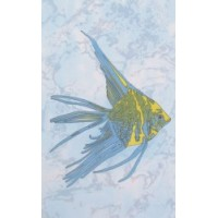 (D403aAR8) D403aAR8 Бриз желтая рыба 20x33
