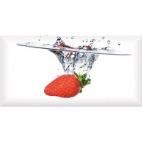 Monocolor Decor Fresh Strawberry 10х20