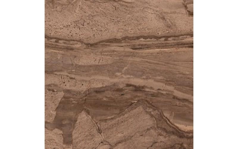 Керамическая плитка  Даф коричневый  38.5x38.5 BELLEZA 01-10-1-16-01-15-642