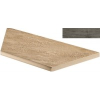 AT7H Axi Grey Timber Round Ang.Sx 45x90 LASTRA 20mm