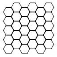 868484 MOS.HEX VEN.WHIT.LUC 30X30