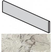 745444  I Marmi di Rex Marble Gray Battiscopa Luc 4.6x60
